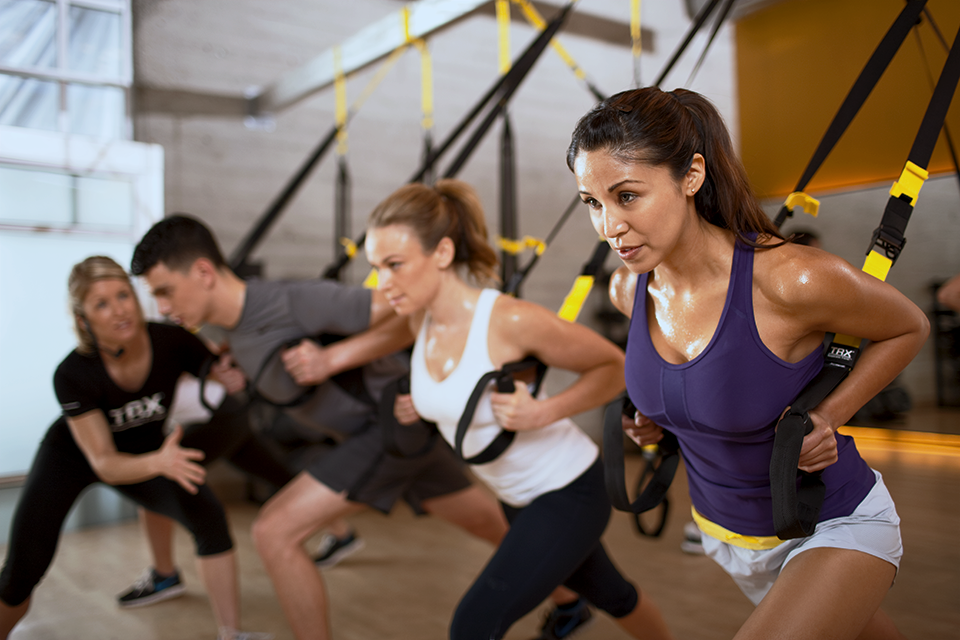 TRX training participants