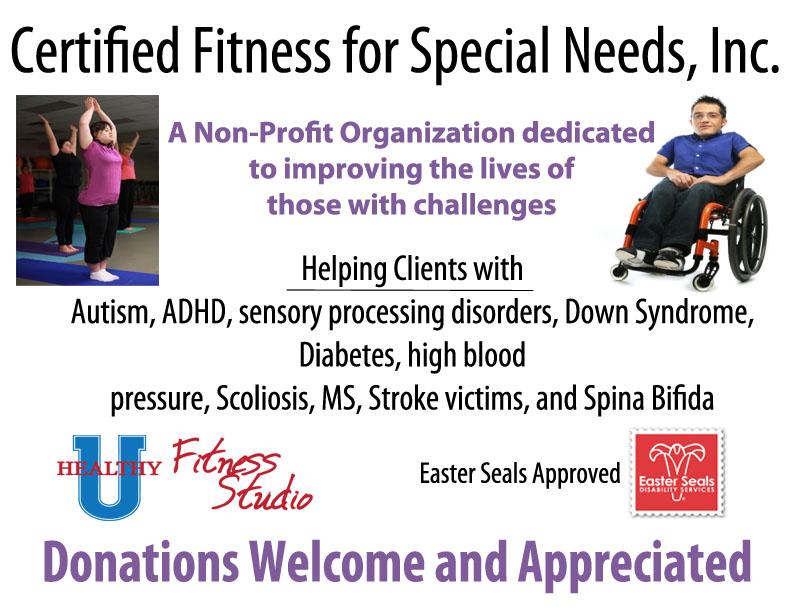 Certified Fitness For Special Needs Healthy U Fitness Studio